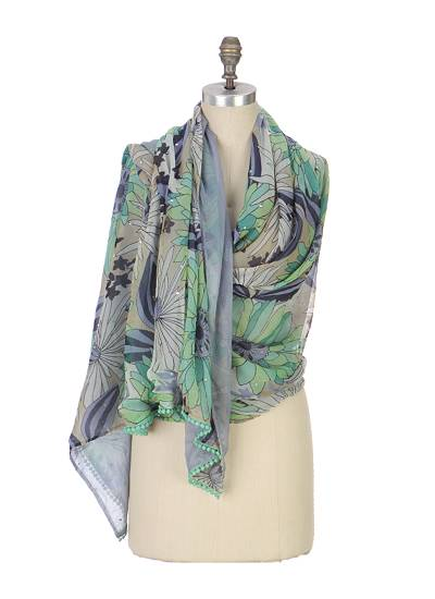 River-To-The-Sea Scarf-Anthropologie.com