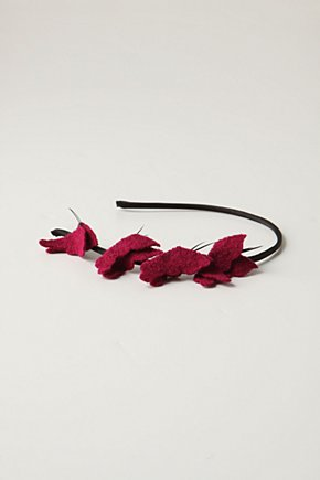 Wings-In-Flight Headband - Anthropologie.com from anthropologie.com
