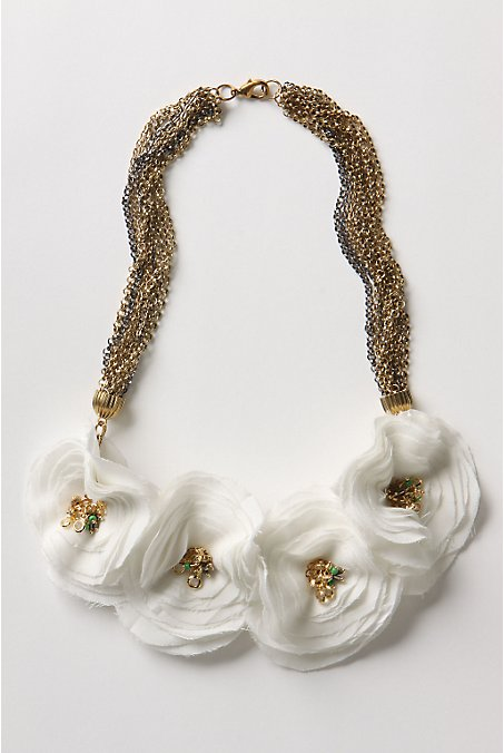 Anthropologie Ranuncula necklace