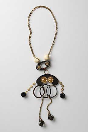 Automaton Necklace - Anthropologie from anthropologie.com