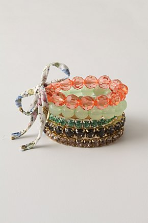Hello Gorgeous Bracelets from anthropologie.com
