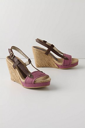 Stems Ascending Espadrilles - Anthropologie.com :  wedge leather heliotrope jute