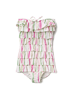 Taffy Stripe Maillot - Anthropologie.com