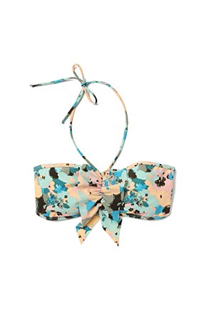 Chinaberry Grove Bandeau - Anthropologie.com :  floral bandeau swimwear ruffled