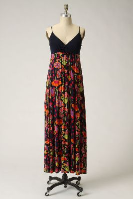 Rambling Rose Chemise - Anthropologie.com :  pink adjustable green orange