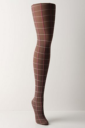 Mullion Tights - Anthropologie.com :  nylon preppy multicolor criss cross
