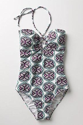 Souk Medallion Maillot  - Anthropologie.com :  cute maillot arabesque swimwear