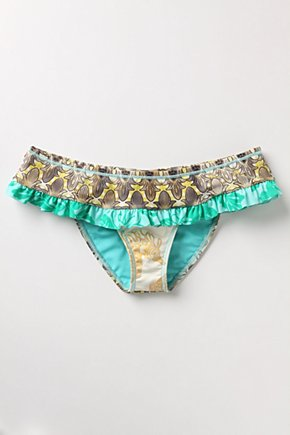 Iolani Bottoms - Anthropologie.com :  botton hipster ruffled swimwear