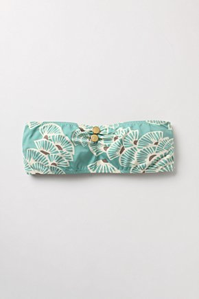 Faint Breeze Bikini Top - Anthropologie.com :  fan top cute asian inspired