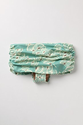 Faint Breeze Bikini Bottom - Anthropologie.com :  fan hipster cute asian inspired