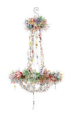 Magpie Chandelier - Anthropologie.com :  lamp interior fixture magpie