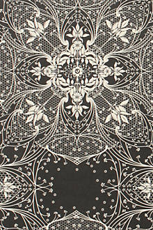 Ebony Lace Wallpaper