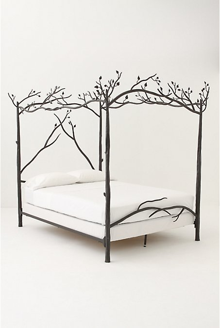 Forest Canopy Bed - Anthropologie.com :  floral forest bedding bed