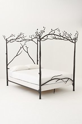 Forest Canopy Bed - Anthropologie.com :  forest leaves bed bedroom