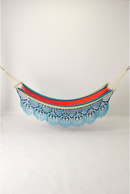 Tranquil Paradise Hammock - Anthropologie.com :  furniture hammock theme indian