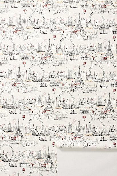 Sale alerts for Anthropologie C'est Magnifique Wallpaper - Covvet
