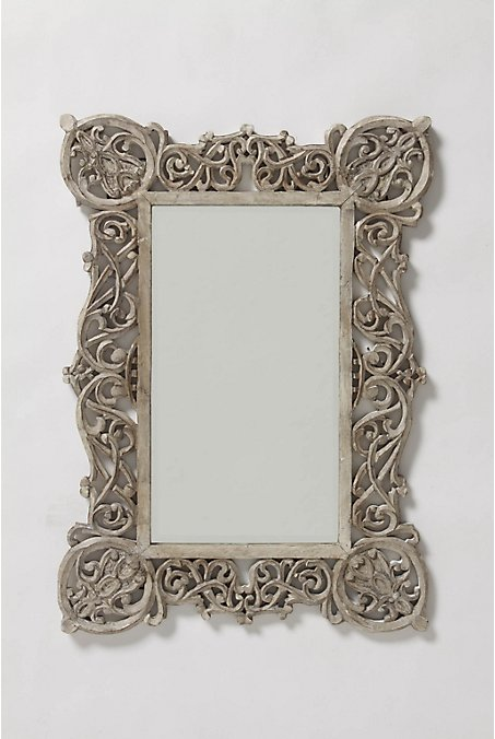 Chantilly Vines Mirror - Anthropologie.com :  mirror design anthropologie boho