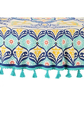 Tentmakers Tablecloth - Anthropologie.com :  home tablecloth