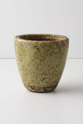 Aged Herb Pot, Small