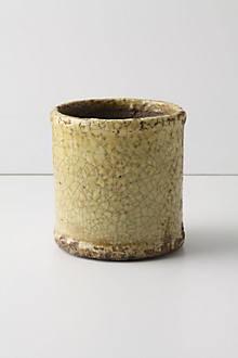 Aged Herb Pot, Cylinder