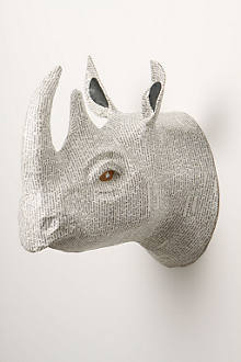Savannah Story Bust, Rhino