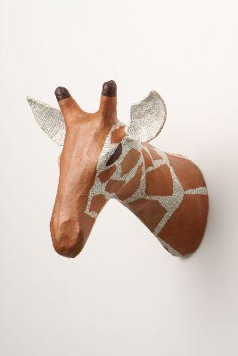 Savannah Story Bust, Giraffe