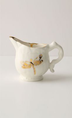 Golden Odonata Creamer - Anthropologie.com