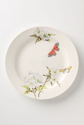 Butterfly Study Dinner plate - 10.75