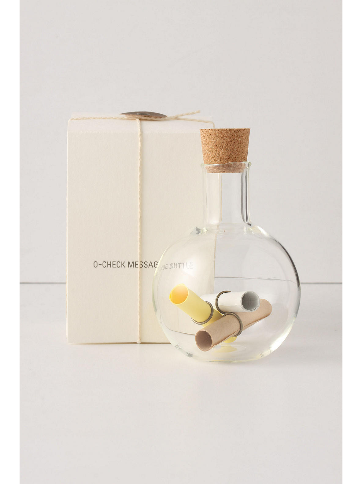 Message In A Bottle - Anthropologie.com :  bottle message paper scroll