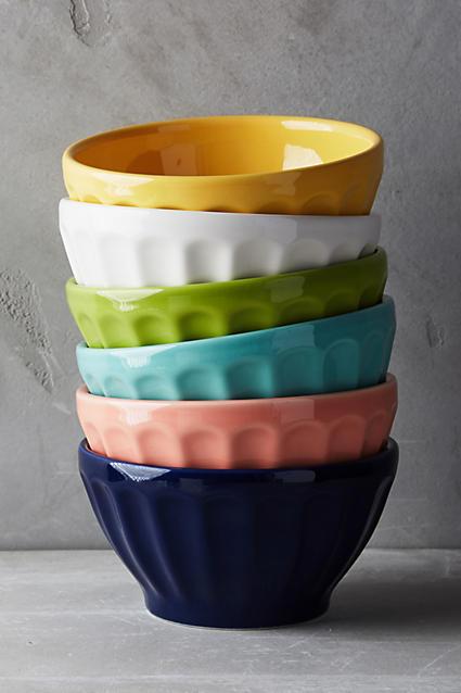Latte Bowls Set of 6 Image