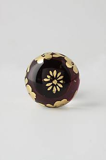 Gilded Cyclamen Knob