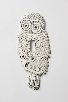 Hoot, Hoot Switchplate, Single