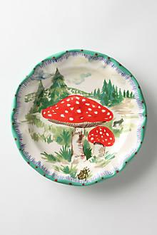 Champignons Plate