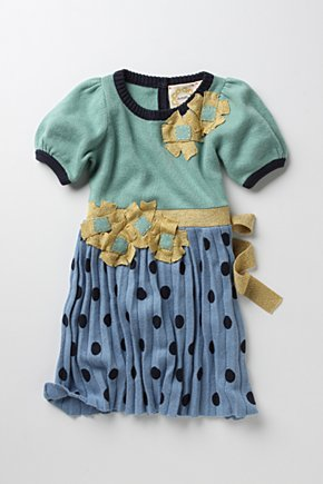 Goldenrod Frock  :  baby clothes anthropologie