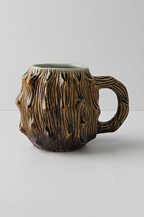 Tree Trunk Mug, $18 @anthropologie.com