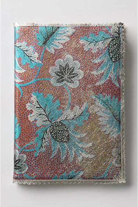 Glimmering Leaves Agenda :  ingrid cusson leather planner planner agenda