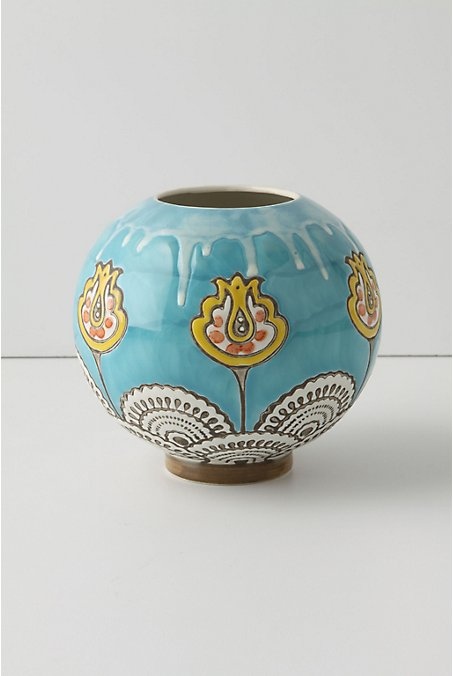 Mehendi Vase - Anthropologie.com :  mehendi home indian vase
