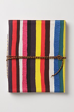 Striped Spectrum Journal  :  planners desk accessory journal calendar