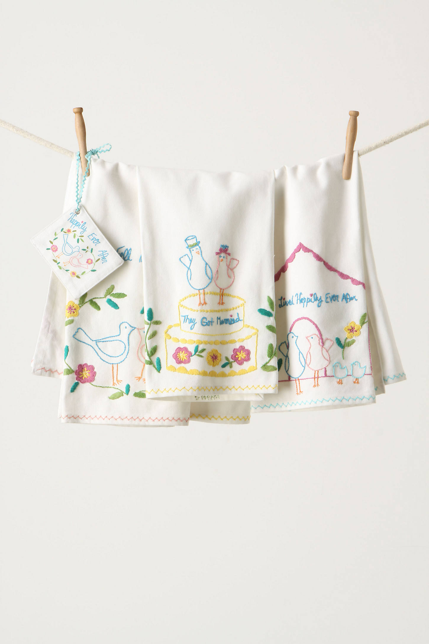 Storybook Romance Dishtowel Set