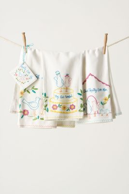 Storybook Romance Dishtowels