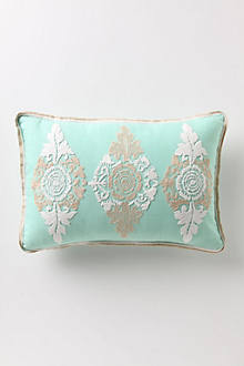 Dusky Blooms Pillow