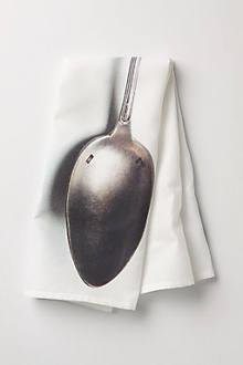 Silverware Dishtowel, Spoon