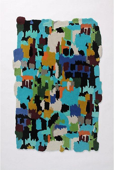 Artist's Tenet Rug-Anthropologie.com