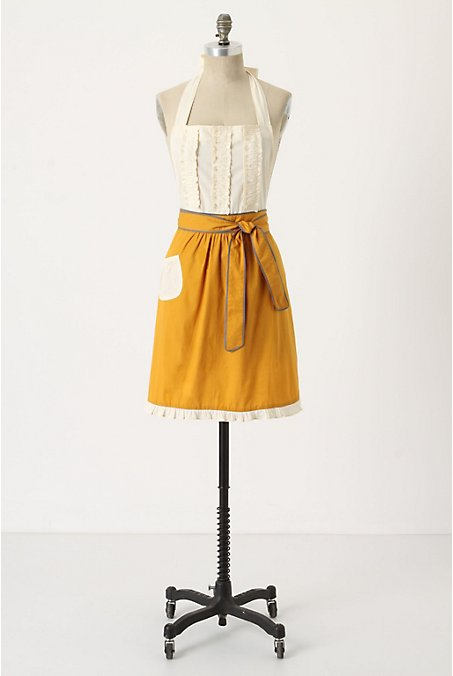 1950 39 s bridal shower theme inspiration project wedding for Anthropologie cuisine couture apron