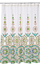 Ceuta Fountain Shower Curtain