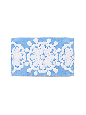 Head-Over-Heels Bathmat - Anthropologie.com :  blue carpets rugs bath mat