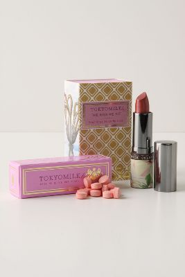 TokyoMilk Kiss Me Kit - Anthropologie.com :  beauty lip product anthropologie lip color