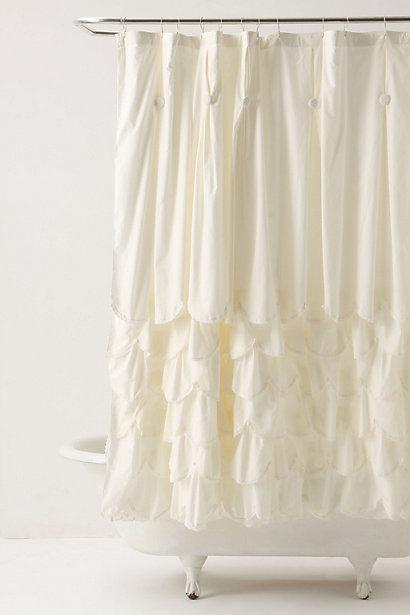 Bustled Shower Curtain