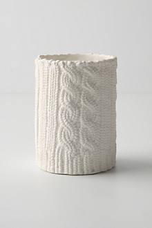 Sweater Sleeve Candle, Medium