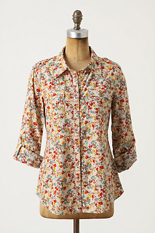 Cissus Button-Up, Flower - Anthropologie.com